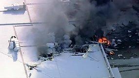 Australijoje vos pakilęs lėktuvas trenkėsi į prekybos centrą