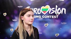 """Kotryna Juodzevičiūtė paaiškino, kodėl ji turėtų atstovauti Lietuvai """"Eurovizijoje"""""""
