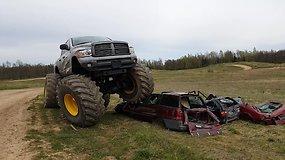 "Pasivažinėjimas visureigiu-monstru ""Monster truck"""