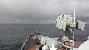 """Rusija išbandė iš povandeninių laivų paleidžiamą tarpžemyninę balistinę raketą """"Bulava"""""""