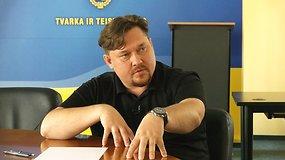 Pilnas interviu su buvusiu aplinkos viceministru Almantu Petkumi