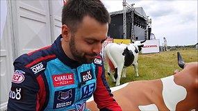 """Pieno iššūkis """"Eneos 1006 km"""" lenktynėse: kuris lenktynininkas išgėrė daugiausiai pieno"""