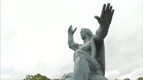 Japonijoje paminėtos 72-osios Nagasakio atominio bombardavimo metinės