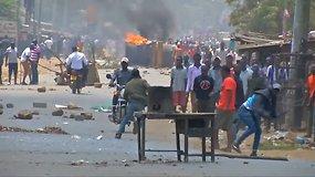 Kenijoje įsiplieskė riaušės dėl prezidento rinkimų rezultatų