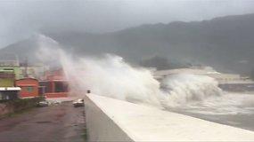"""Honkongą pasiekė itin galingas taifūnas """"Hato"""""""