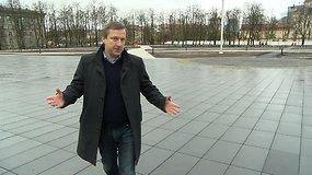 15min žurnalisto įspūdžiai iš ką tik baigtos rekonstruoti Lukiškių aikštės
