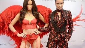 """Adriana Lima – pirmasis """"Victoria's Secret"""" modelis, turintis savo vaškinę antrininkę"""