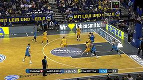 Roko Giedraičio vedama Berlyno ALBA iškovojo trečią pergalę Europos taurėje