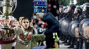 """""""Vieni vartai"""": didieji Lietuvos klubų sunkumai, top įvarčiai ir """"Copa Libertadores"""" skandalas"""