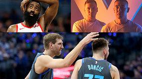 """""""Atsarginiai"""": nesuvokiamas J.Hardeno rezultatyvumas, L.Dončičiaus semestras ir žvaigždės NBA2k turnyre"""