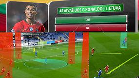 """""""Vieni vartai"""": Ronaldo Lietuvoje, sumaištis grupėje ir išskirtinė Lietuvos žaidimo analizė"""