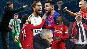 """""""Vieni vartai"""": """"Sūduvos"""" naujas treneris, """"Žalgirio"""" paieškos, nuostabus """"Liverpool"""" ir baisus J.Mourinho"""