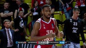 Vilniaus Rytas patyrė žeminantį pralaimėjimą Monake