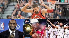 """""""Atsarginiai"""": J.Valančiūno """"Raptors"""" kelias į sėkmę, kova dėl pralaimėjimo ir NBA geriausiųjų TOP 5"""