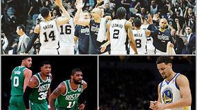 """""""Atsarginiai"""": superžvaigždžių traumos, grėsmė """"Spurs"""" dinastijai ir vedėjai, prisėdę ant suolo"""