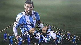 """""""Vieni vartai"""": Messi prakeiksmas, vokiečių ir brazilų debiutas bei Rusijos keistenybės"""