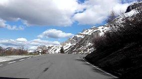 Dolomitų keliu Italijos Alpėse: nervai atlaikė, automobilis – ne