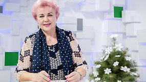 Meno karpinių kūrėja K.Mažukaitienė rodė, kaip gimsta nuostabūs snaigių raštai
