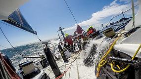 "Roko Milevičiaus komentaras po ""Ambersail 2"" finišo regatoje ""AF Offshore Race"