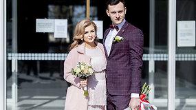 """Jaunieji Miglė ir Dovydas koronaviruso nepabūgo: """"Norėjome susituokti bet kokiomis sąlygomis"""""""