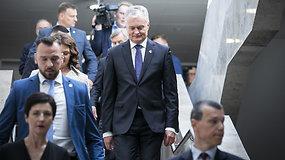 Po G.Nausėdos pranešimo — komentarai iš Seimo