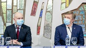 """LVŽS frakcijos spaudos konferencija: """"LVŽS siūlo alternatyvias kovos su COVID-19 priemones"""""""