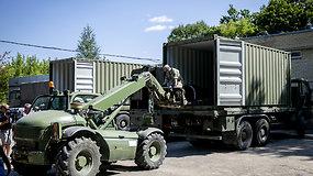 Lietuvą pasiekė migrantams skirta humanitarinė siunta iš Lenkijos