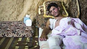 #paskuipabėgėlius Libane: negailestingų įstatymų įkaitais tapę vyrai priversti vergauti