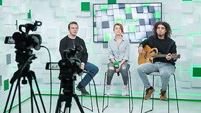 """15min studijoje – grupė """"Skamp"""": apie naujausią dainą, 20-metį scenoje ir labai artimą draugystę"""