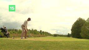 Lietuvos atvirajame golfo mėgėjų čempionate – svečių triumfas