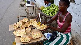 Ekspedicija Afrika: San Tomė ir Prinsipė valstybėje – ir tuštutėliai paplūdimiai, ir egzotiški turgūs