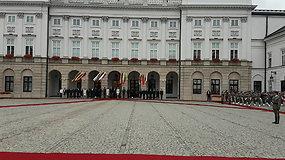 Lenkijos prezidentūroje skamba Lietuvos Respublikos himnas