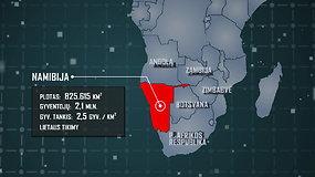 Dviračiais Afrikoje: kas ta Namibija?