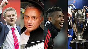 """""""Vieni vartai"""": """"Manchester United"""" gelbėtojas, raudona kortelė P.Pogba ir Čempionų lygos burtų intrigos"""