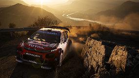 Monte Karlo WRC ralyje – plyšusios padangos, taranuoti medžiai ir triumfuojantis S.Ogier