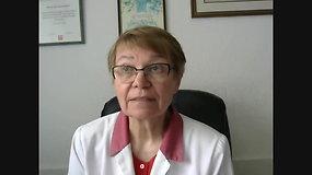 """Antavilių pensionato atstovė B.Šarakauskienė apie sergančius COVID-19: """"Mane tie skaičiai labai pribloškė"""""""