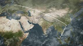 Mindaugo Veriko kelionė iš Lietuvos į Indoneziją