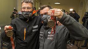 Lietuva pasitiko Dakaro dalyvius – pirmosios emocijos sugrįžus namo