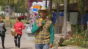 Leo ir Bružas meksikiečius prakalbino lietuviškai