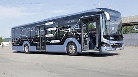 Vilniaus keleiviai pirmieji Baltijos šalyse turi galimybę išbandyti naują hibridinį autobusą
