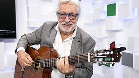 15min Studijoje – legendinis belgų gitaristas ir kompozitorius Francis Goya