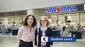 """Studentė Laura apsipirko """"Maximoje"""", palyginimas atskleidė – jai čia pirkti apsimoka"""