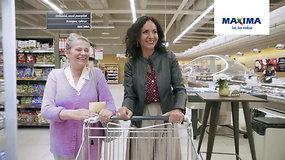 """Močiutė Roma ruošdama anūkui gimtadienį apsipirko """"Maximoje"""", nes jai čia apsimoka"""