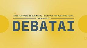 Seimo rinkimų debatai: Medininkų rinkimų apygarda (I)