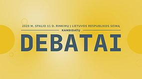 Seimo rinkimų debatai: Šalčininkų-Vilniaus rinkimų apygarda (I)