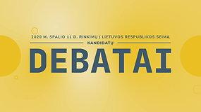 Seimo rinkimų debatai: Šalčininkų-Vilniaus rinkimų apygarda (II)