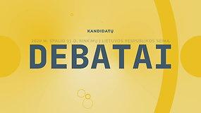 Seimo rinkimų debatai: Medininkų rinkimų apygarda (III)