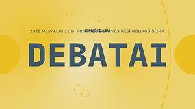 Seimo rinkimų debatai: Medininkų rinkimų apygarda (II)