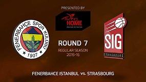 "Eurolyga: Stambulo ""Fenerbahče"" – Strasbūro SIG"