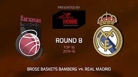 """Brose Baskets"" – Madrido ""Real"""